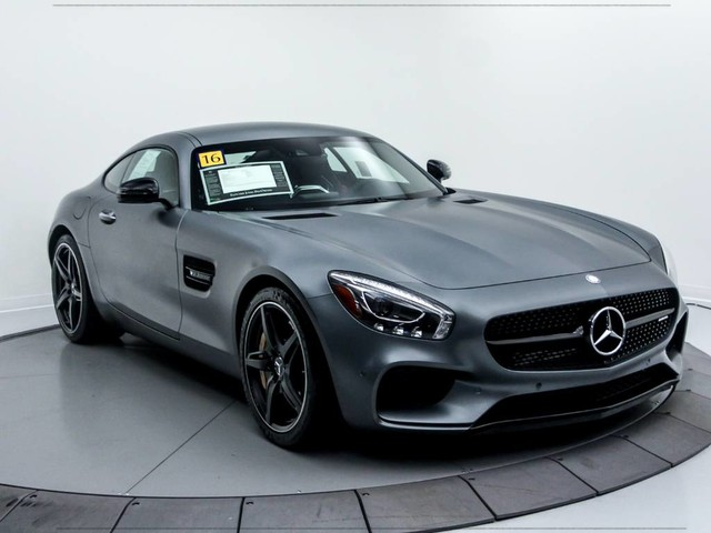 Certified Pre-Owned 2016 Mercedes-Benz AMG® GT AMG® GT Coupe in ...