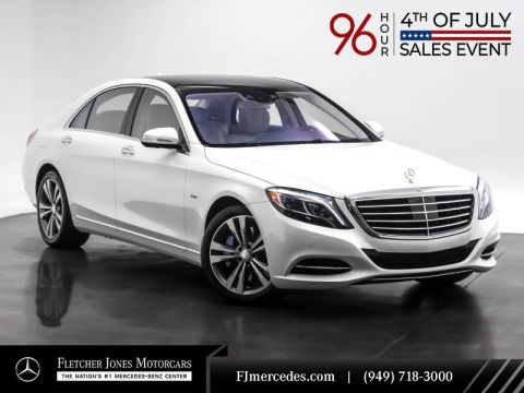 Certified Pre-Owned 2016 Mercedes-Benz S-Class S 550 Plug-In Hybrid