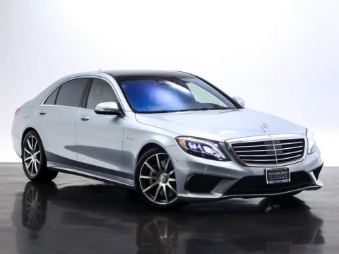 Certified Pre-Owned 2014 Mercedes-Benz S-Class S 63 AMG®